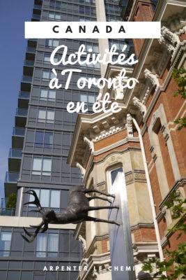 activites toronto ete blog voyage canada arpenter le chemin