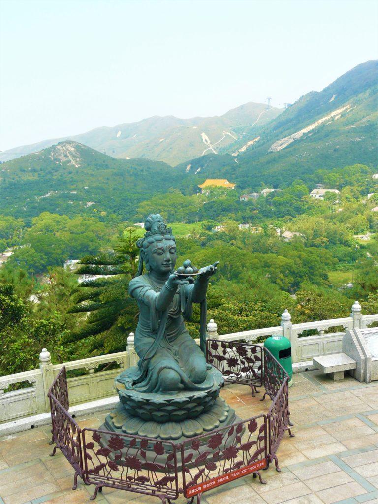 Lantau bouddha visiter hong kong