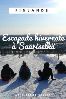 voyages noces escapade hiver saariselka laponie finlandaise blog voyage finlande arpenter le chemin