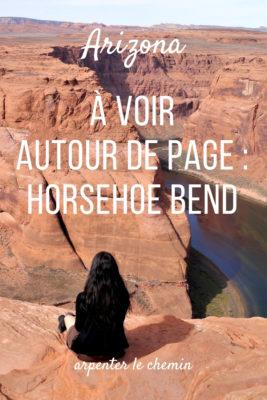 arizona page horsehoe bend antelope canyon lac powell etats-unis blog voyage road-trip usa arpenter le chemin