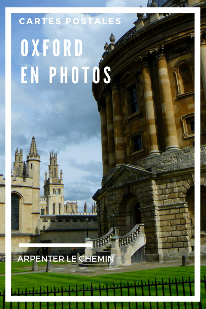 oxford angleterre photos blog voyage arpenter le chemin