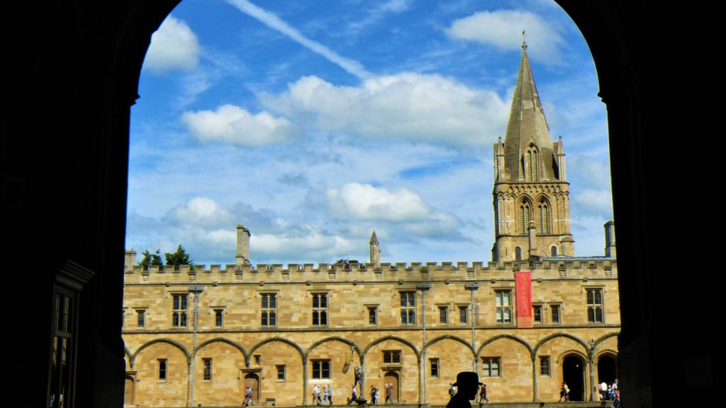 oxford christ church college harry potter blog voyage arpenter le chemin uk