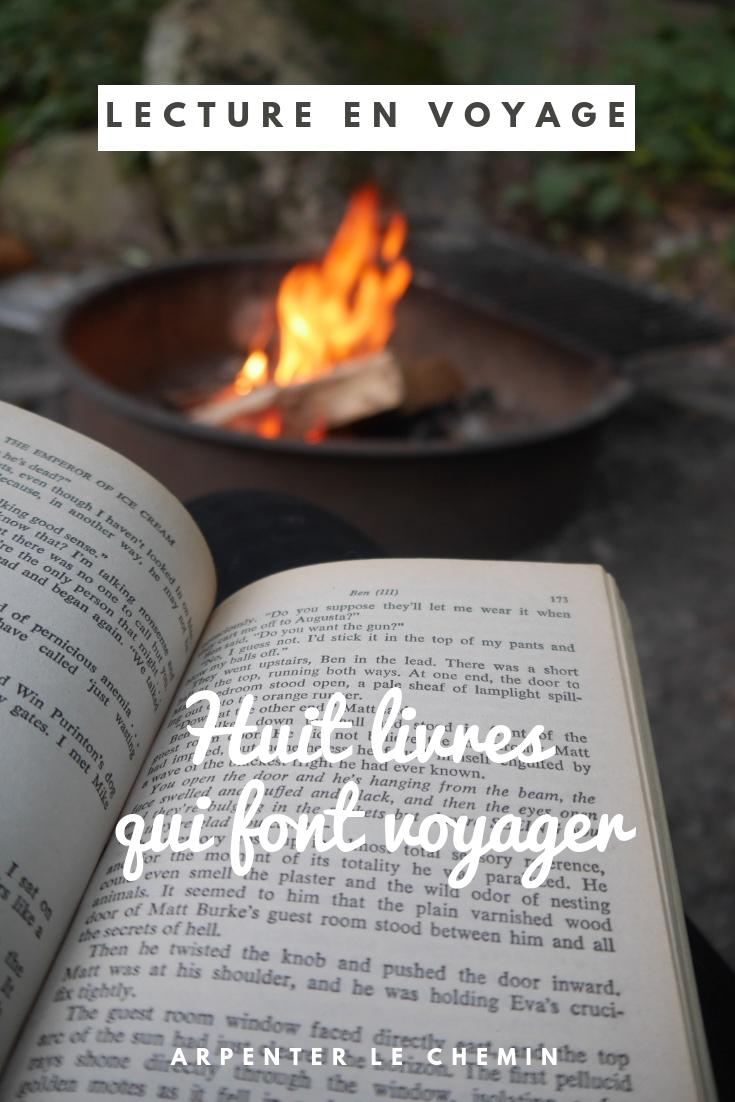 livres pour voyager inspiration conseil blog voyage arpenter le chemin