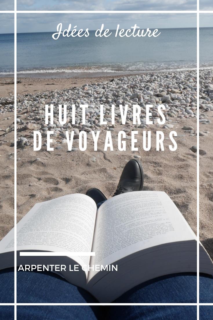 livres voyage blog arpenter le chemin