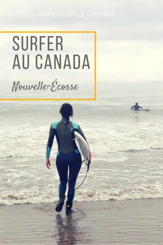 surf canada nouvelle-ecosse blog voyage arpenter le chemin