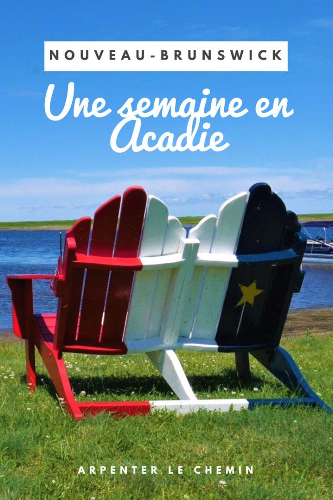 itineraire acadie nouveau-brunswick canada voyage