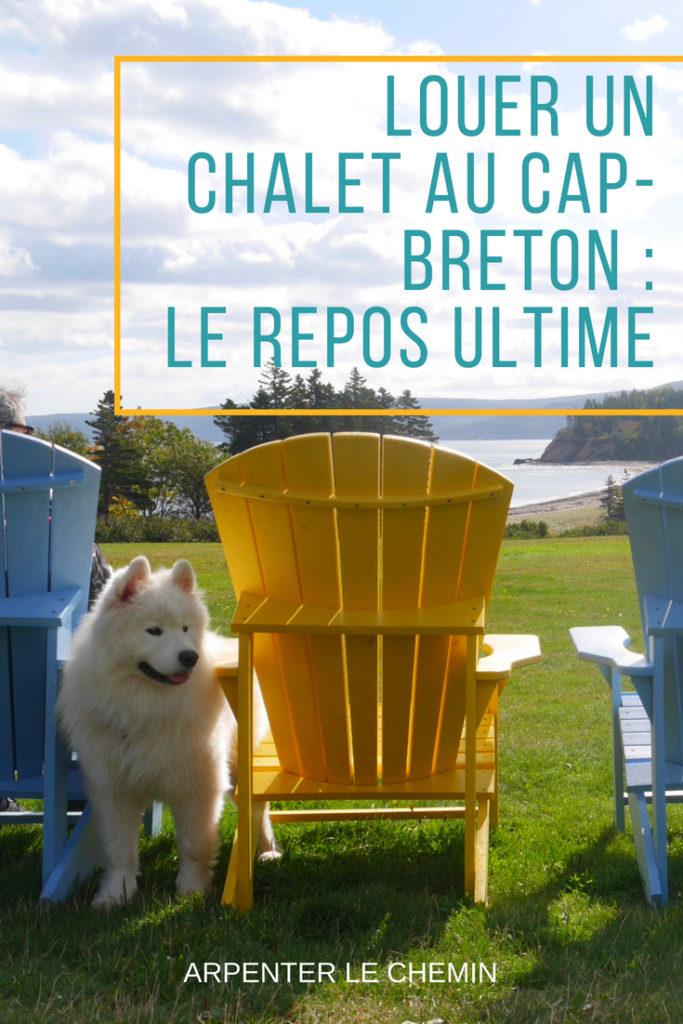 louer chalet cap-breton nouvelle-ecosse canada voyage