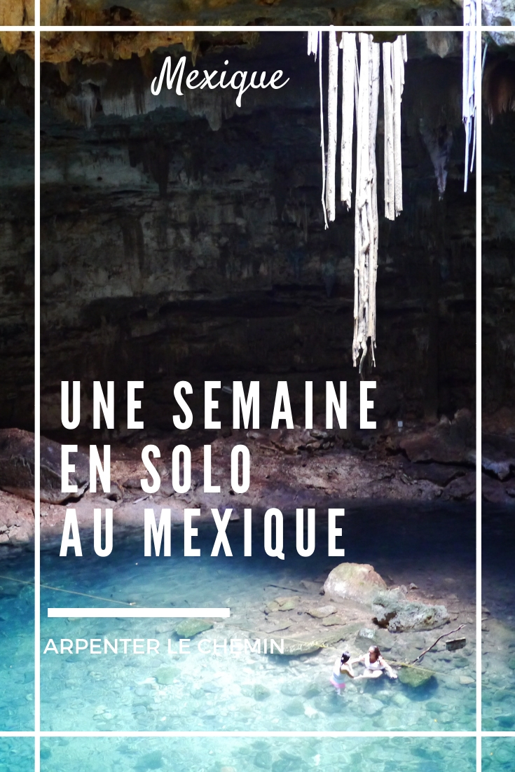 itineraire solo au feminin voyage mexique yucatanchichen itza blog arpenter le chemin