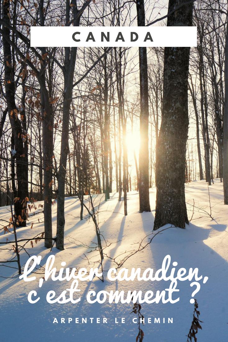 hiver canada blog voyage roadtrip arpenter le chemin
