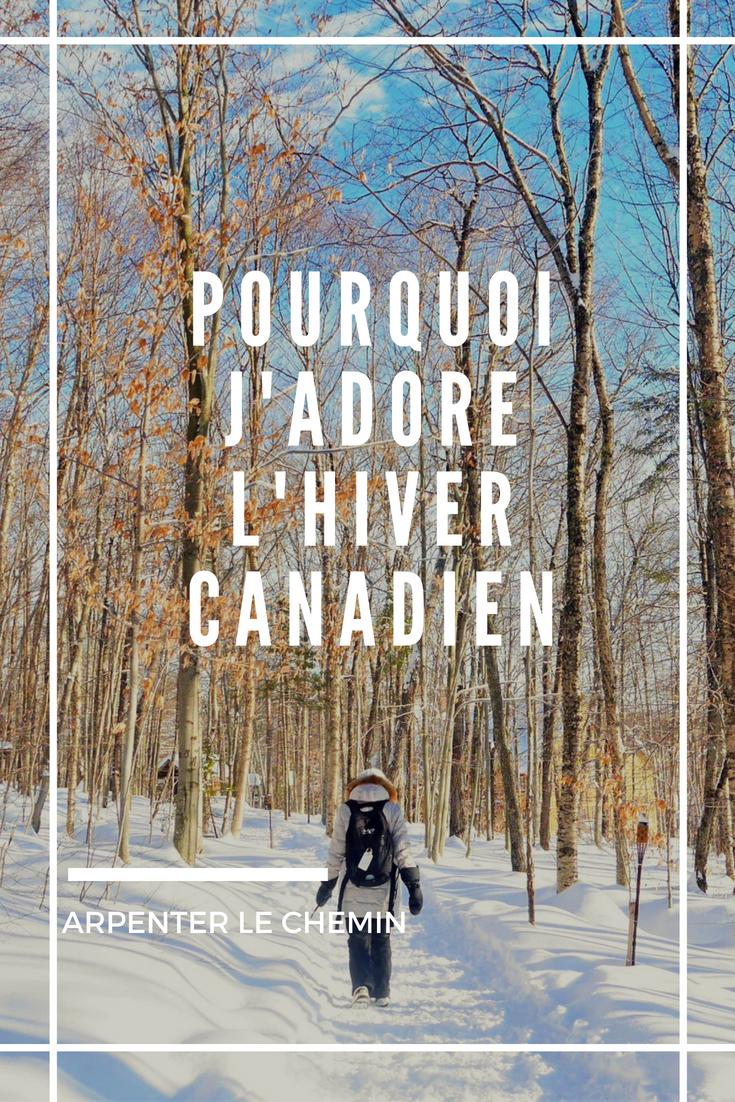 hiver canada quebec froid blog voyage arpenter le chemin