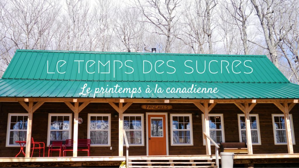 Cabane à sucre au canada