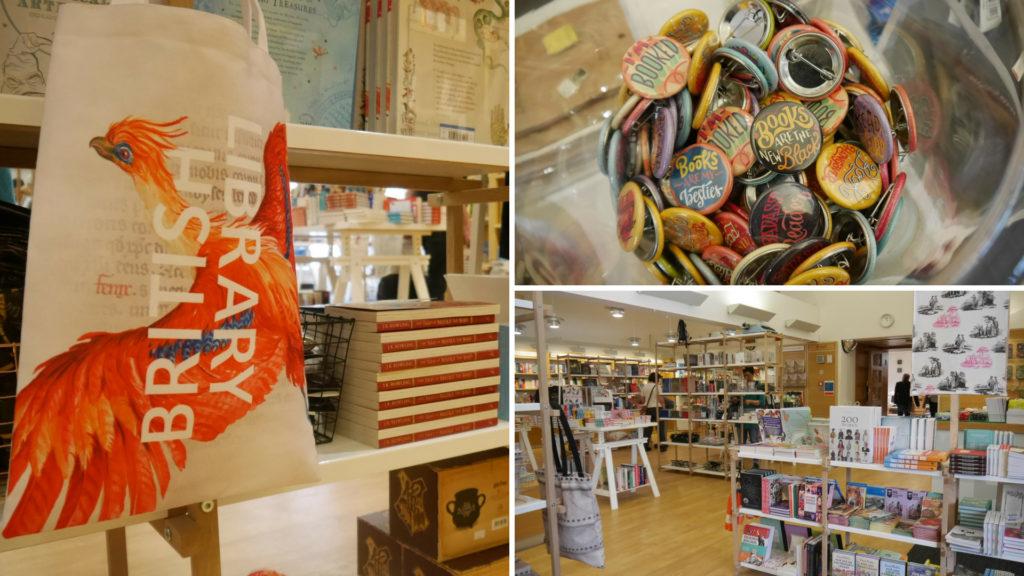 British Library boutique Londres King's Cross blog voyage Arpenter le chemin