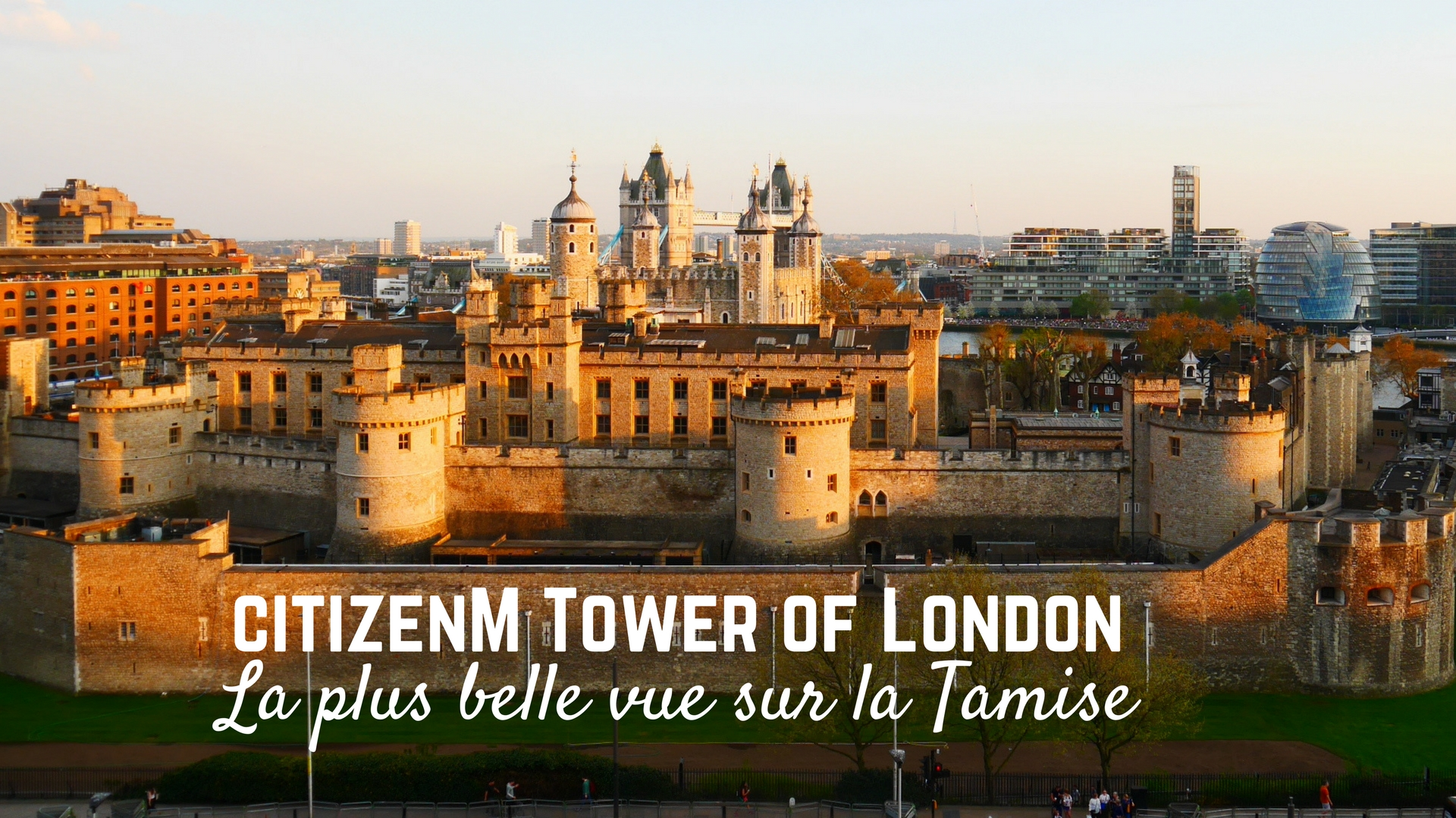 citizenM tower of London titre Arpenter le chemin blog