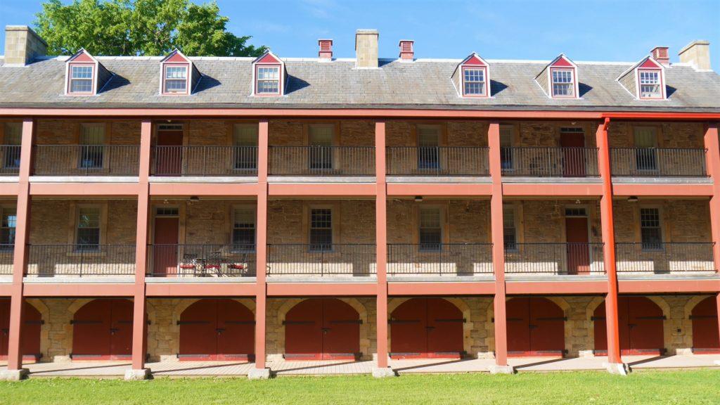 Fredericton garnison casernes