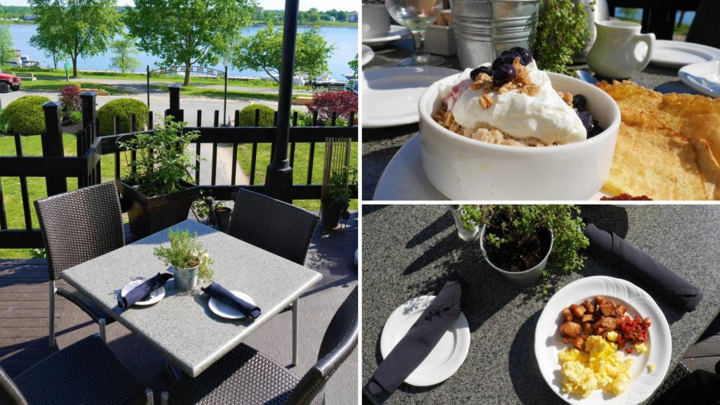 Fredericton petit déjeuner crown plaza hotel centre-ville