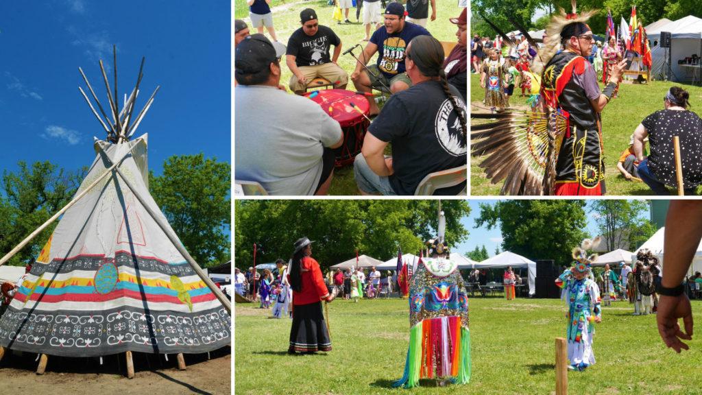 Fredericton powwow st-mary's premiere nation maliseet nouveau-brunswick