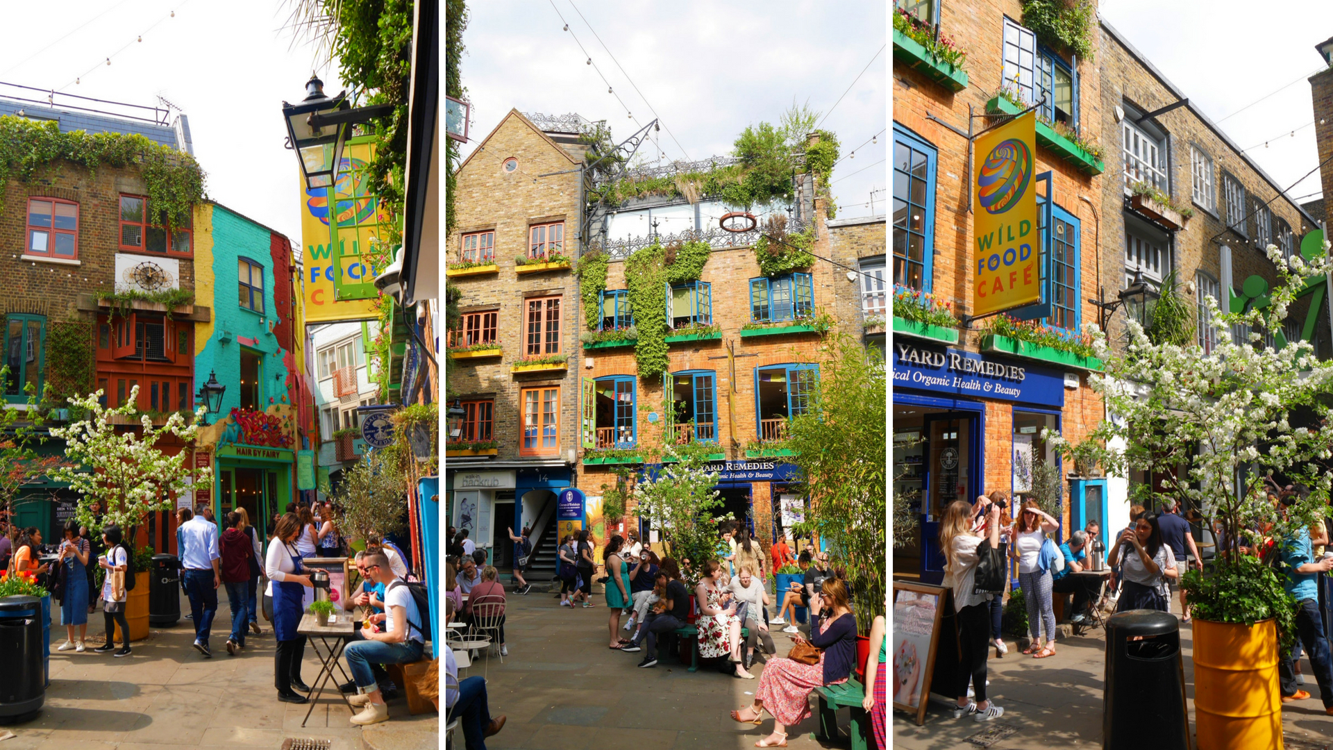 Neal's yard montage covent garden londres