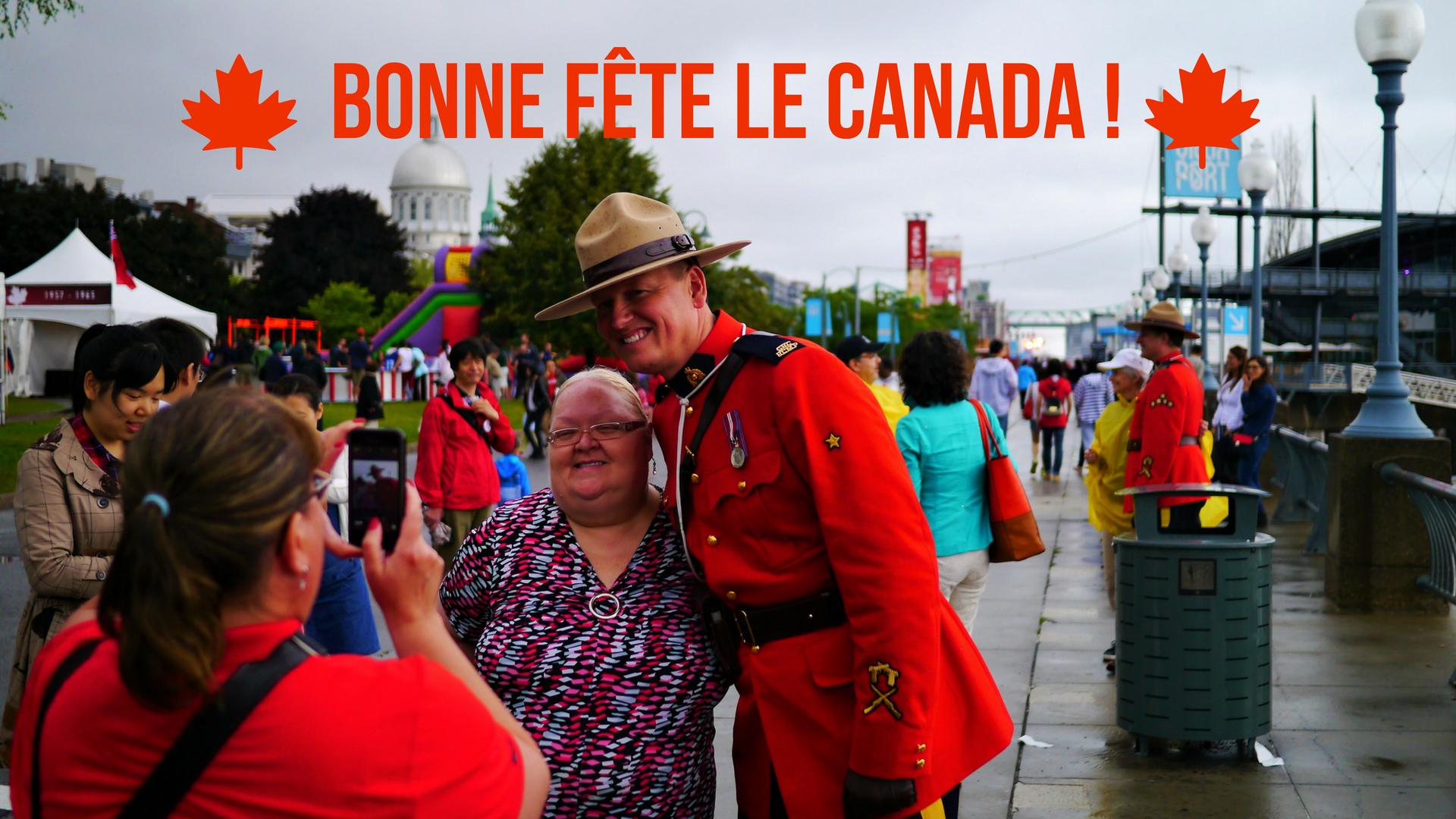 Bonne fête le Canada