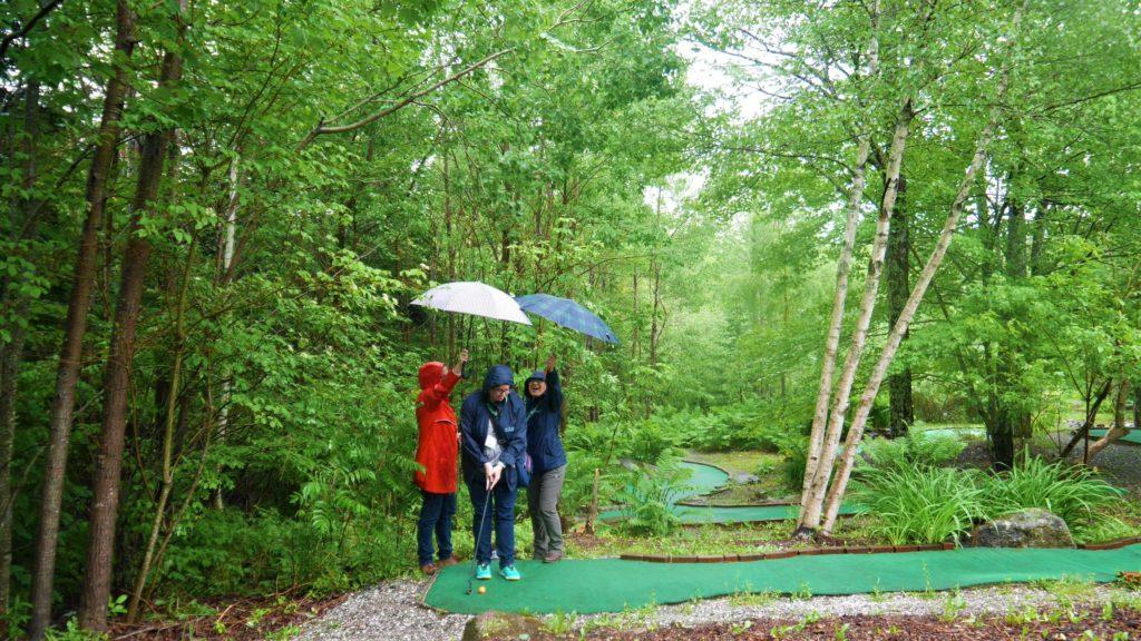 Firefly Forest Hampton NB minigolf