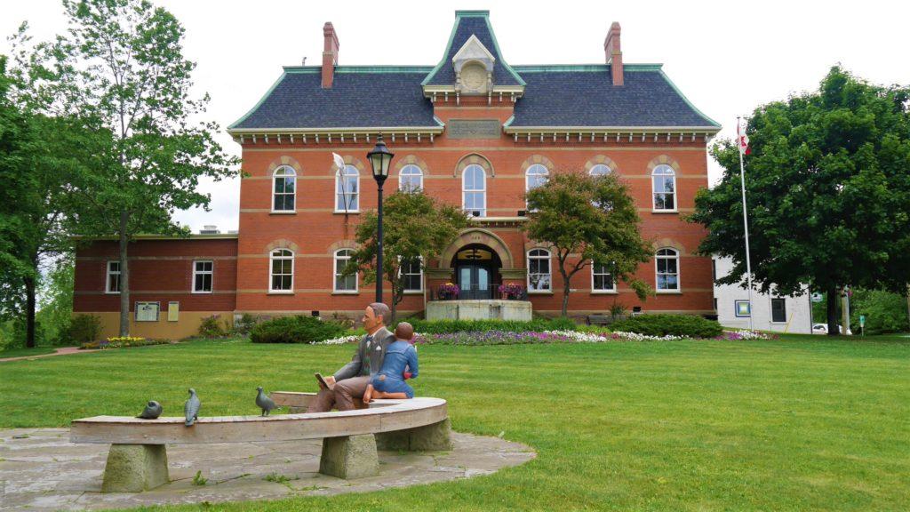 Hampton hotel de ville escapade voyage Moncton NB