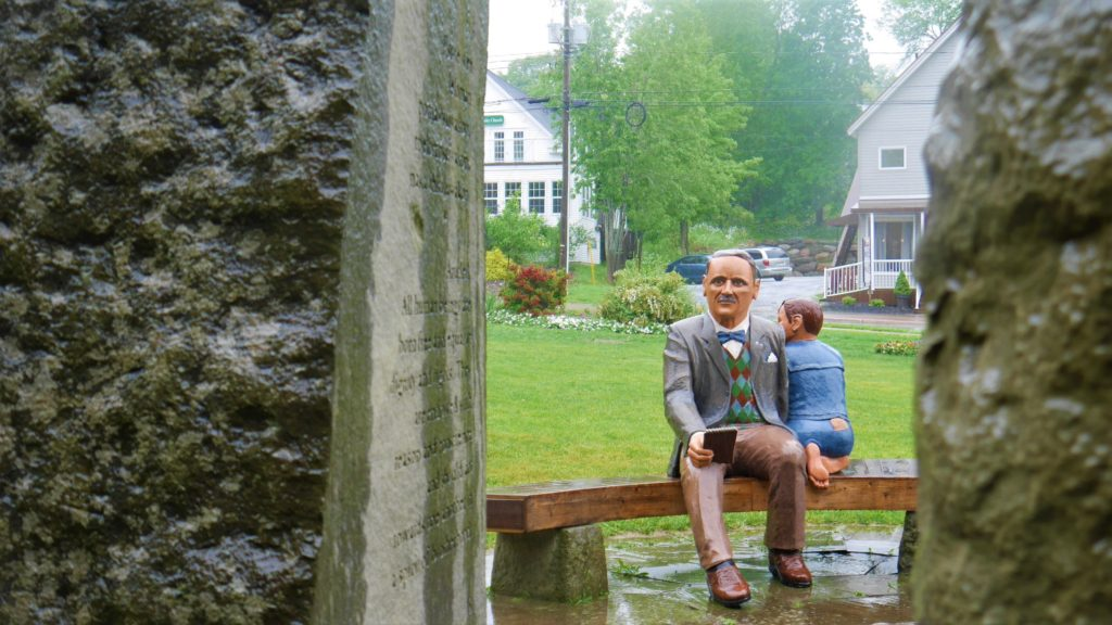 John Peters Humphrey Hampton NB statue