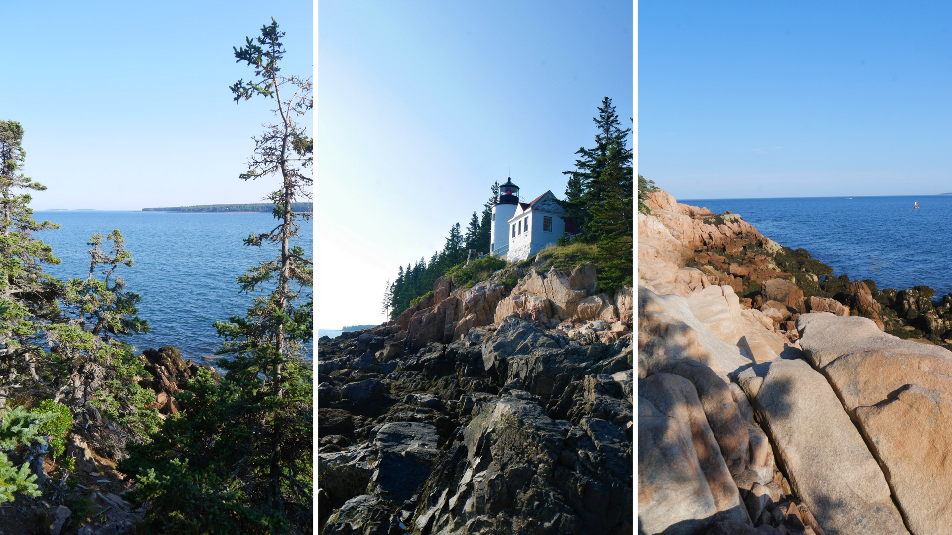 Bass harbor lighthouse acadia national park main etats-unis blog voyage road-trip arpenter le chemin