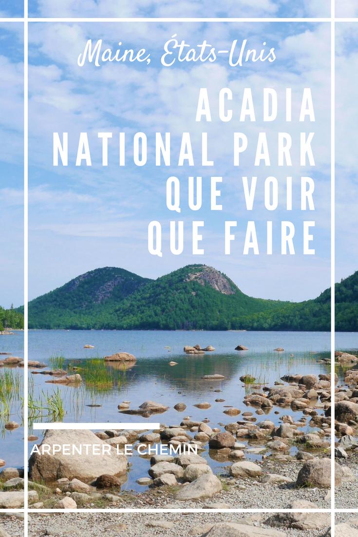 incontournables acadia national park maine etats-unis road-trip voyage blog arpenter le chemin (1)