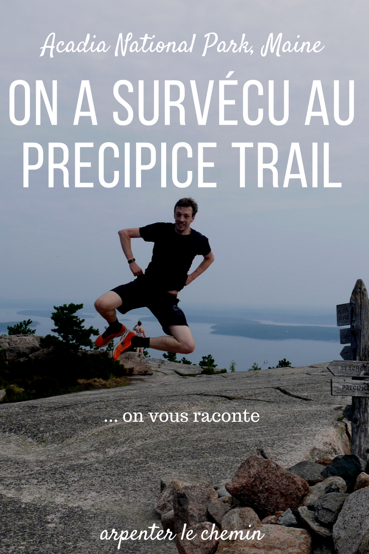 precipice trail randonnees parc acadia maine usa etats-unis blog voyage arpenter le chemin