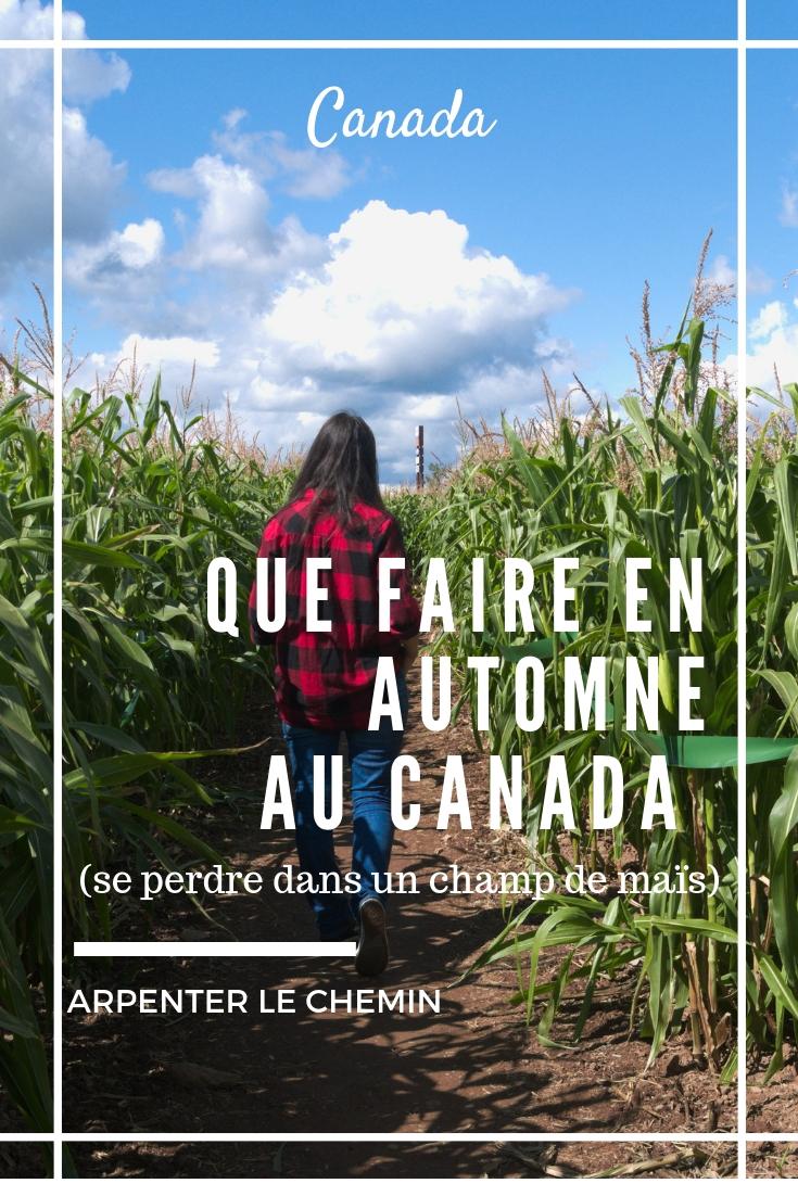 que faire automne canada activites road-trip voyage blog arpenter le chemin