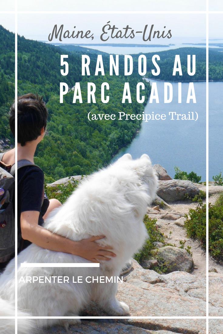 randonnees acadia national park maine etats-unis precipice trail road-trip voyage blog arpenter le chemin