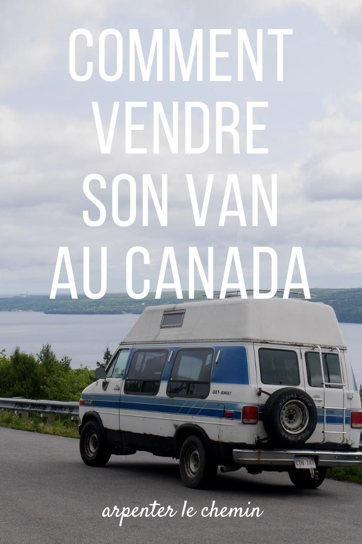 vendre son van canada acadie road-trip voyage arpenter le chemin blog