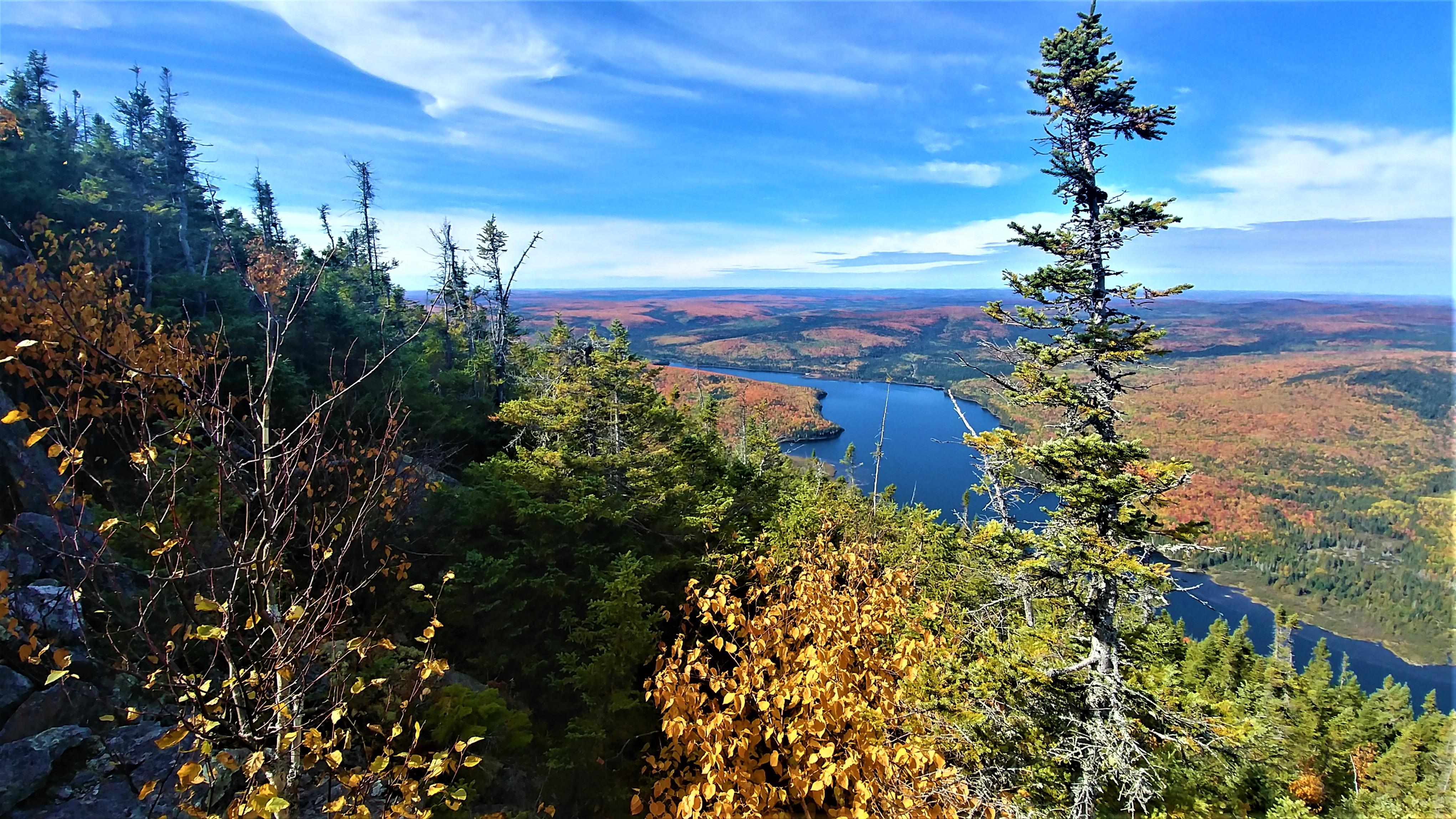 Mont Carleton Nouveau-Brunswick Canada Acadie road-trip automne blog voyage road-trip arpenter le chemin mont Sagamook