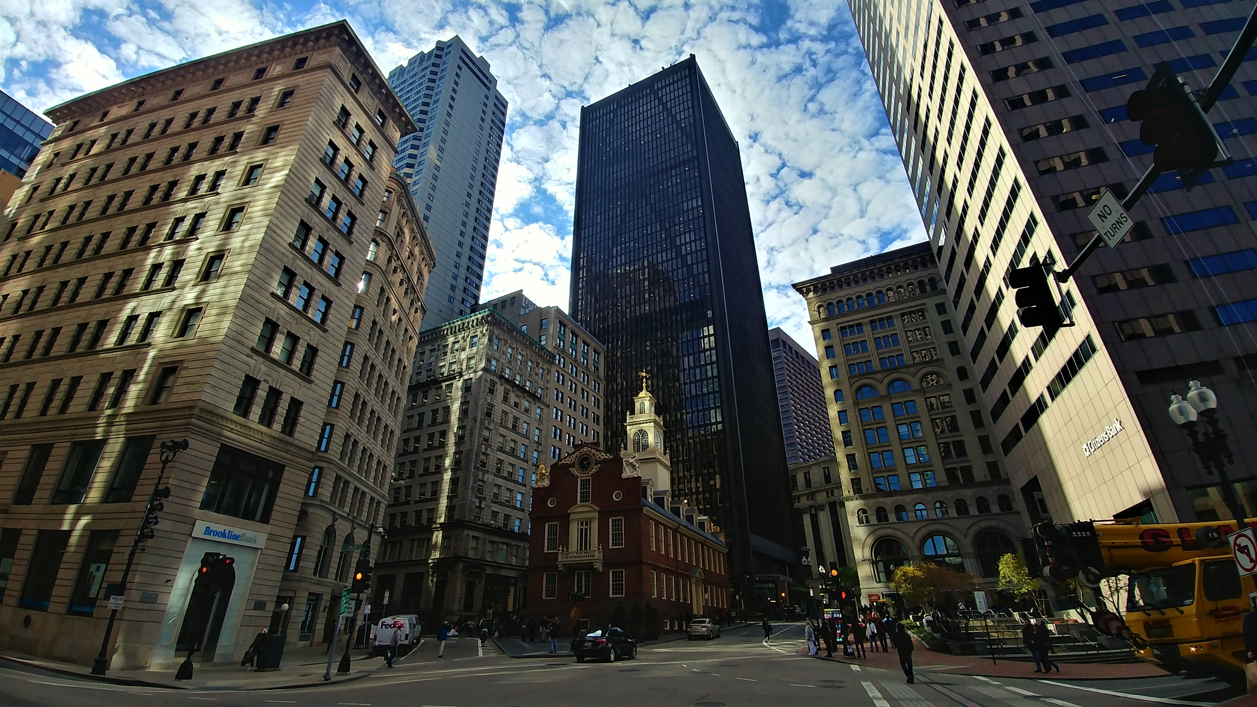 boston old state house usa voyage road-trip arpenter le chemin