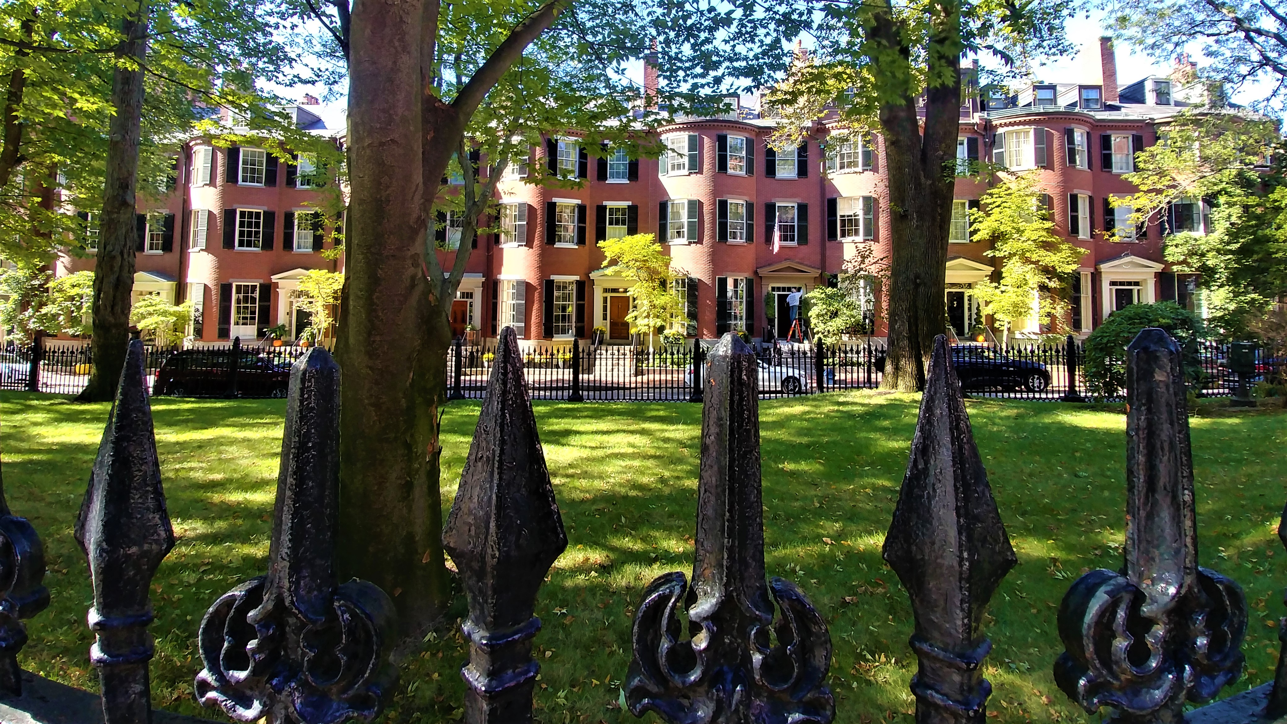 Beacon Hill Automne Halloween Boston Road Trip Blog Voyage Arpenter Le Chemin
