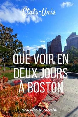 que voir boston usa automne road-trip voyage arpenter le chemin blog