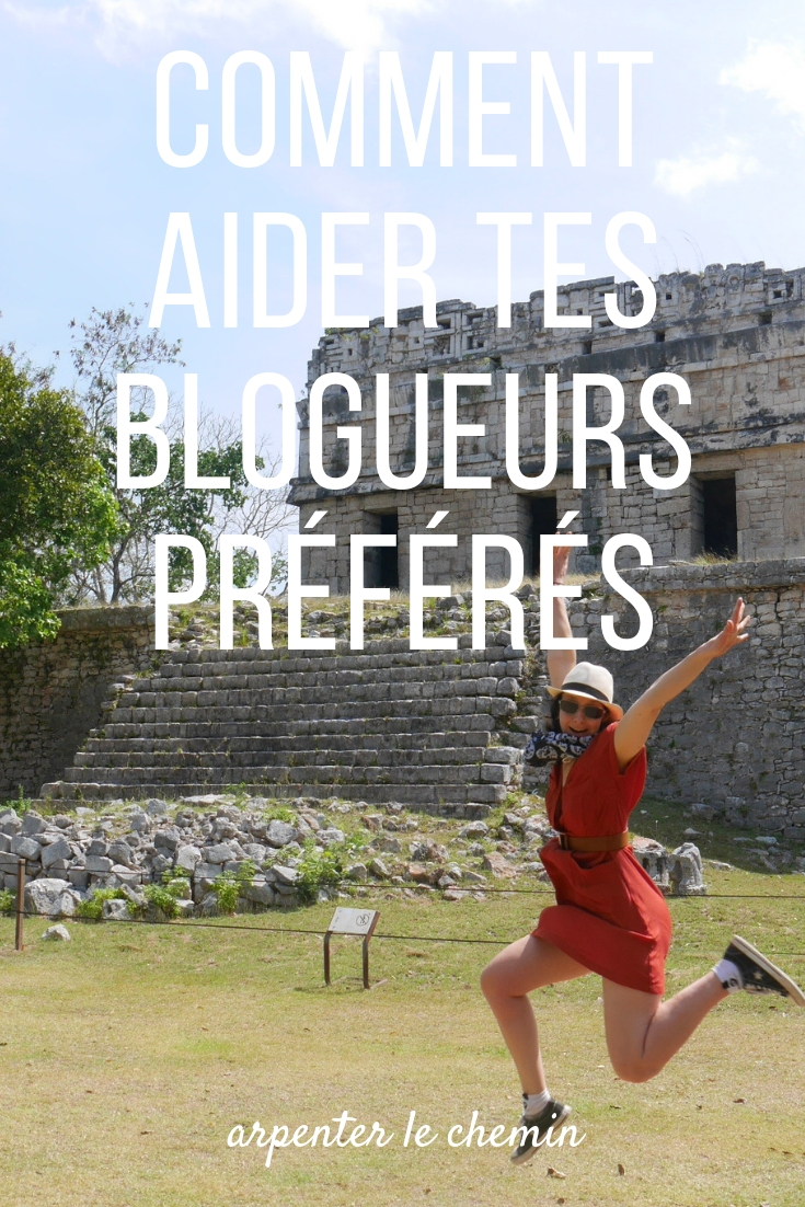 aider blogueurs blog voyage arpenter le chemin canada