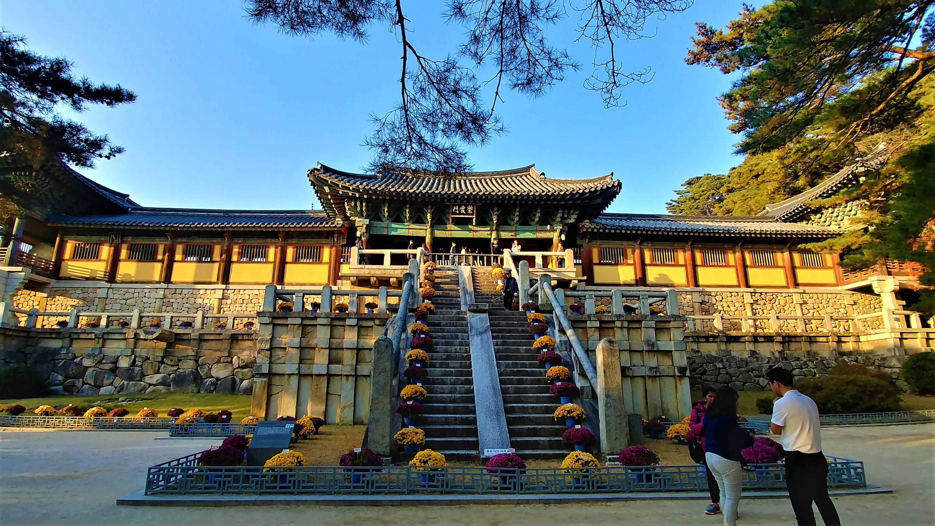 bulguksa bouddhisme coree du sud templestay blog voyage arpenter le chemin
