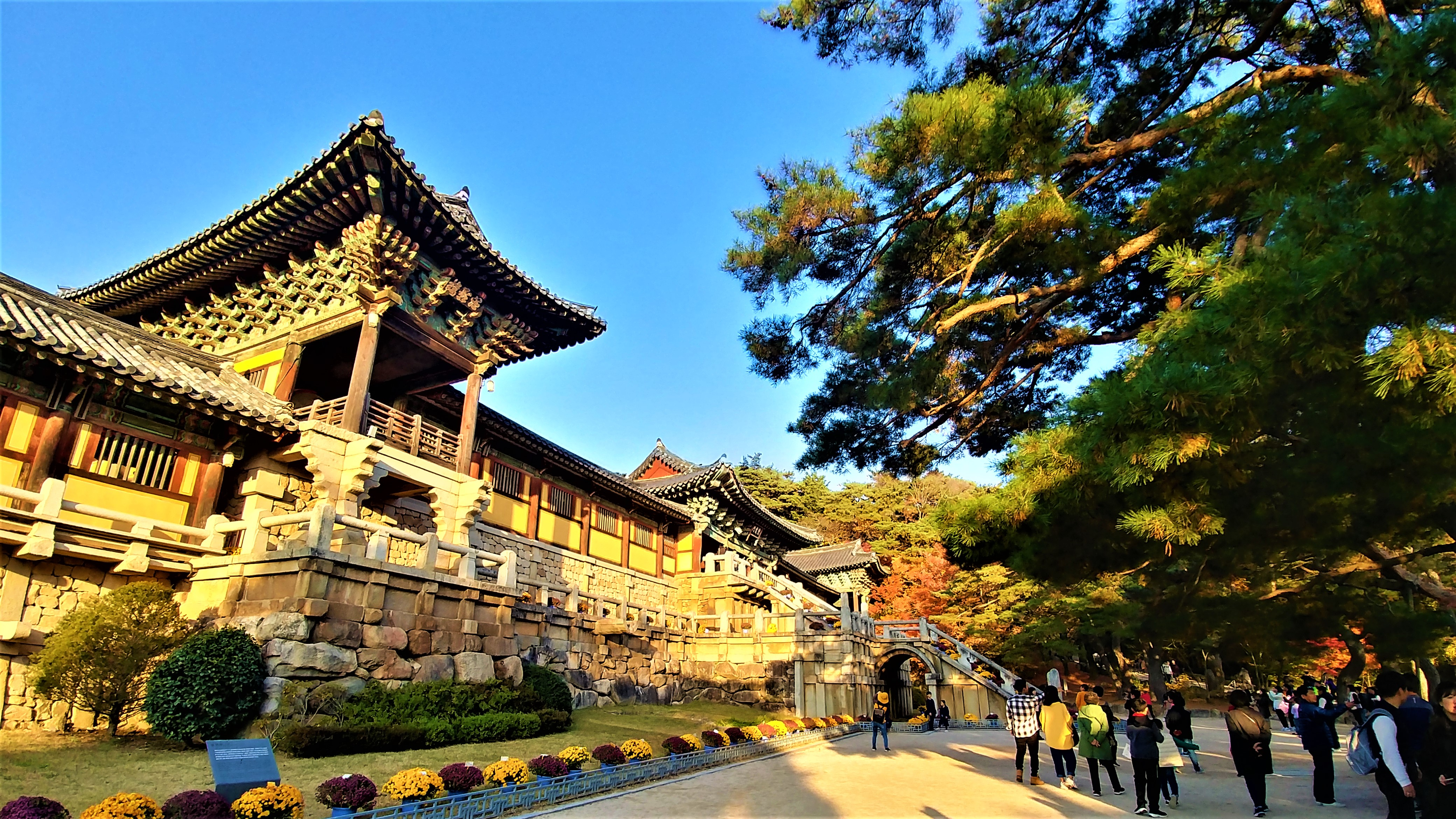bulguksa templestay bouddhisme coree du sud asie blog voyage arpenter le chemin