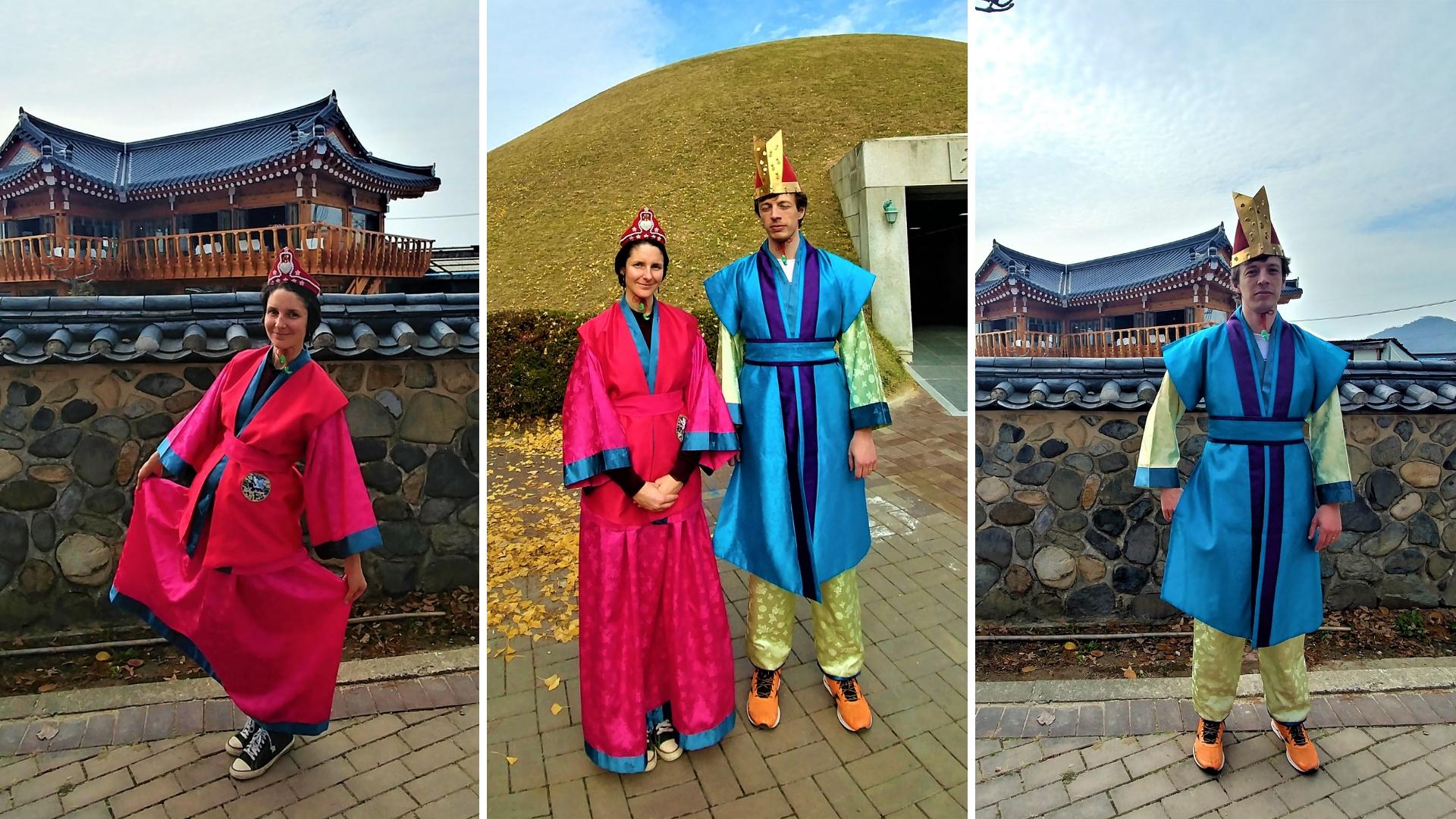 gyeongju tombes royales Cheonmachong coree voyage blog arpenter le chemin