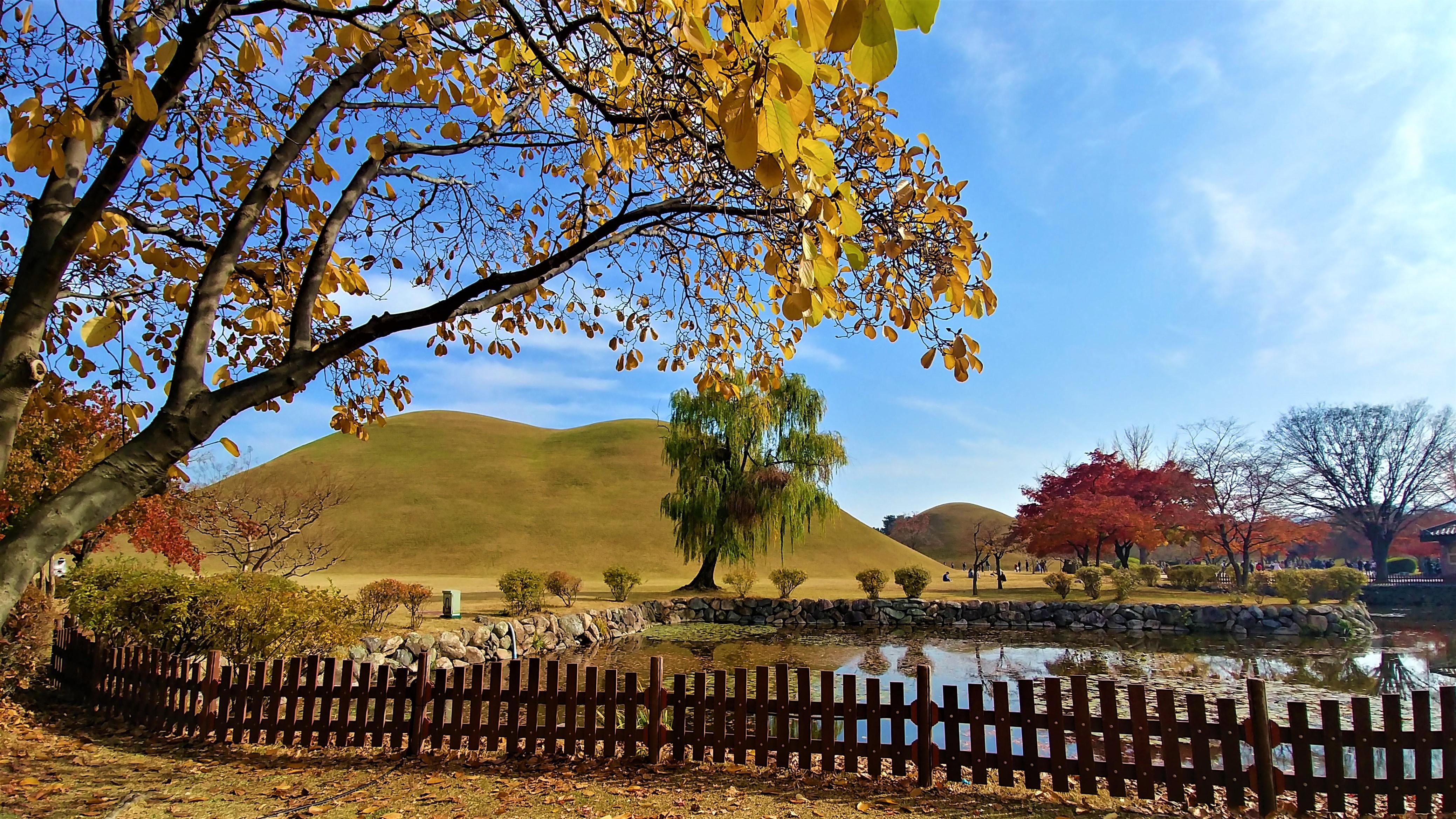 gyeongju tombes royales coree du sud blog voyage arpenter le chemin