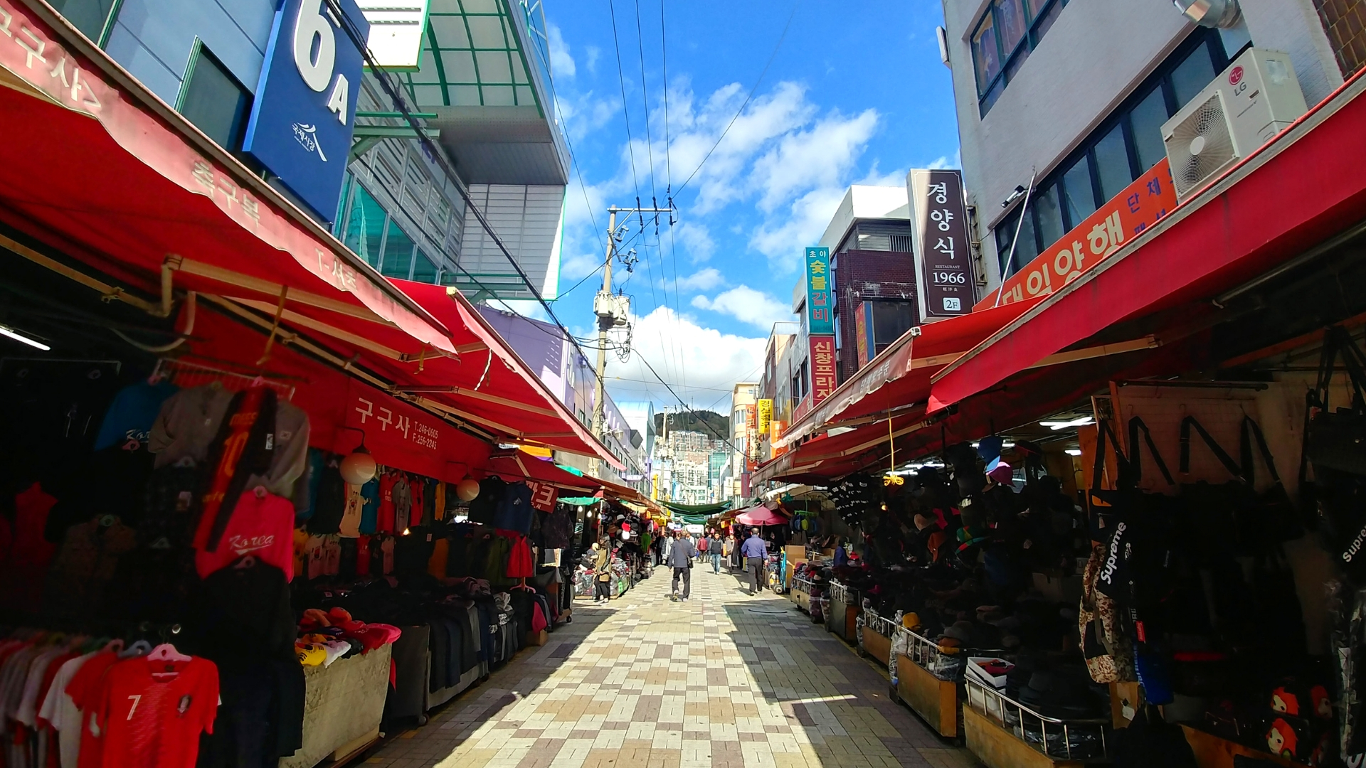 marche gukje market coree du sud busan blog voyage asie arpenter le chemin