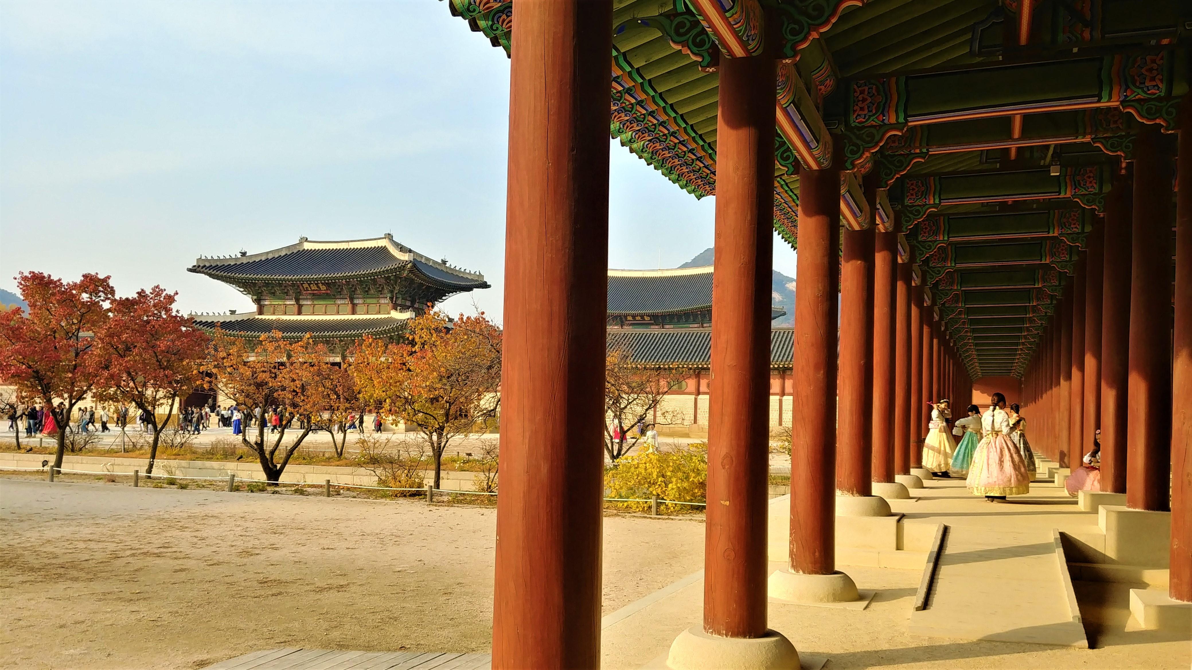 seoul Gyeongbokgung palais royal que faire coree blog voyage asie arpenter le chemin