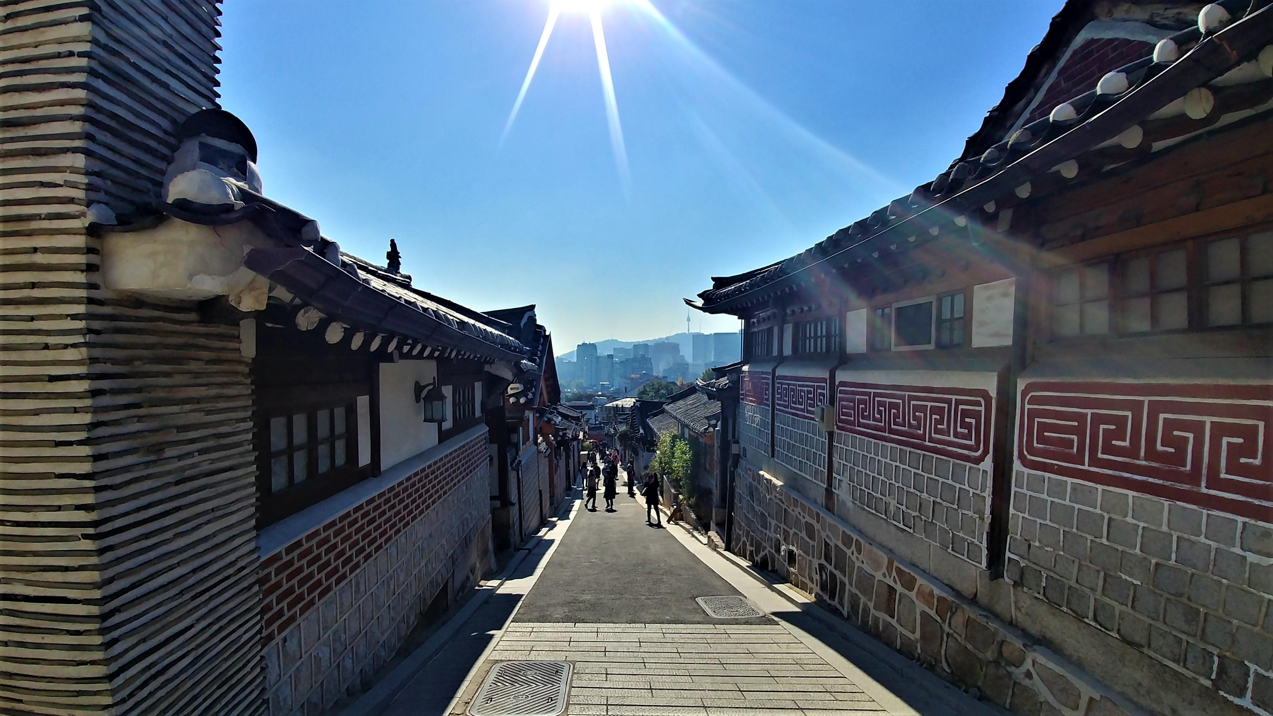seoul hanok bukchon blog voyage arpenter le chemin