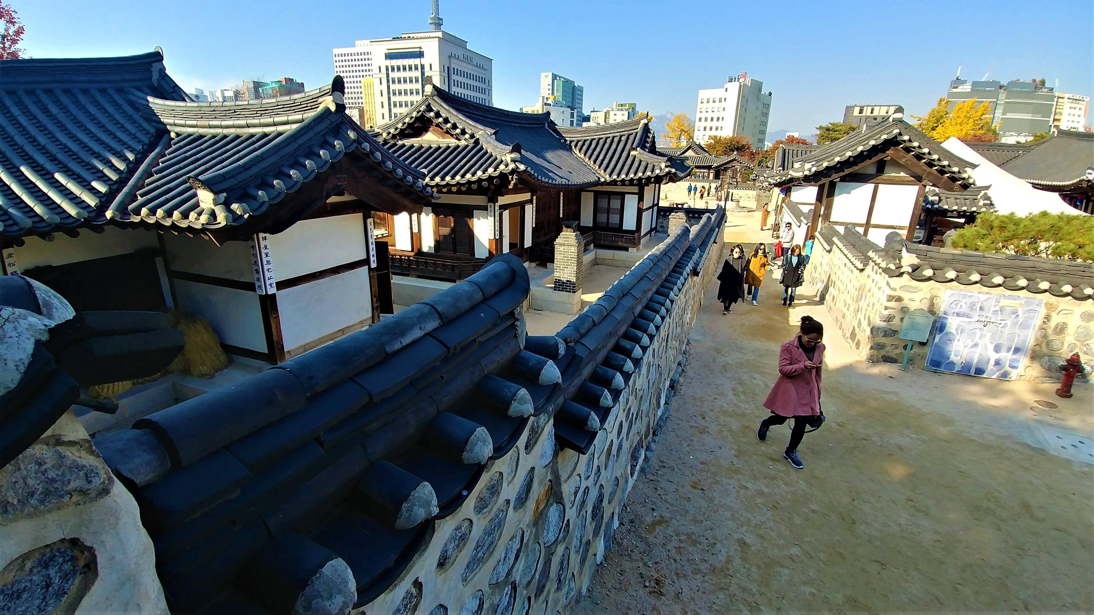 seoul hanok namsangol que voir coree blog voyage arpenter le chemin