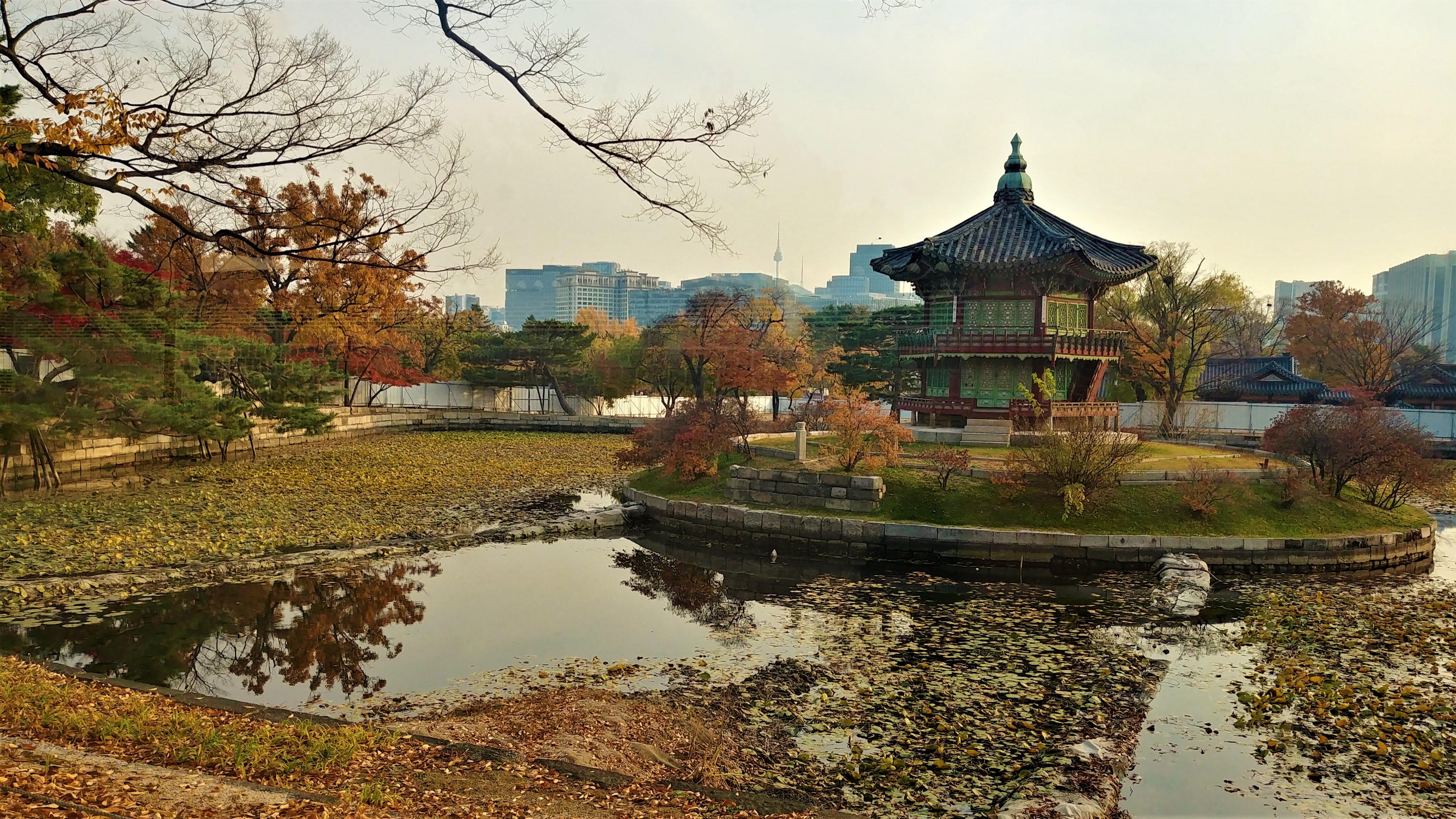 seoul palais Gyeongbokgung que faire coree blog voyage arpenter le chemin