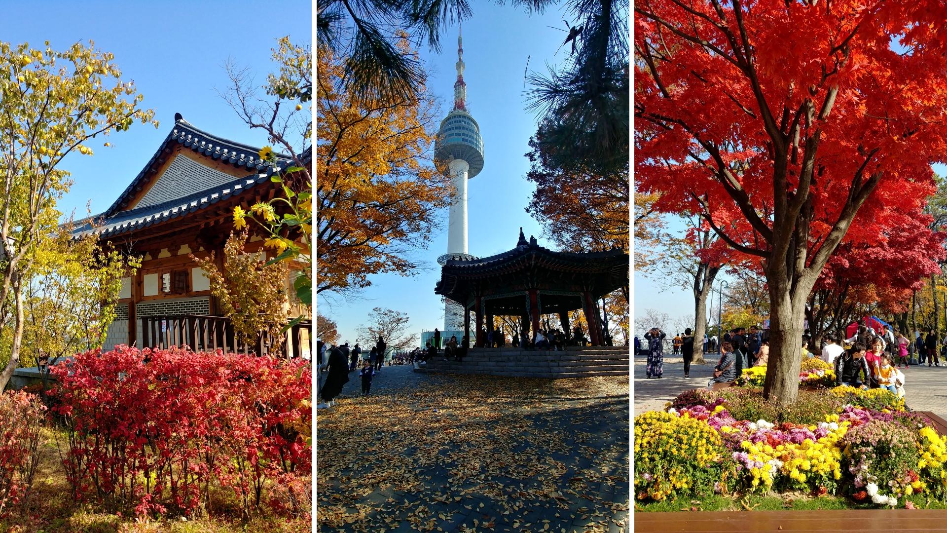 seoul tower coree du sud blog voyage arpenter le chemin