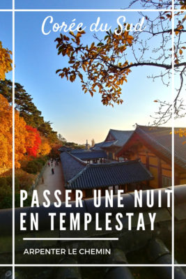 templestay asie coree du sud blog voyage arpenter le chemin gyeongju seoul
