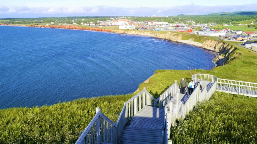 Cap aux meules vue panoramique voyage quebec canada
