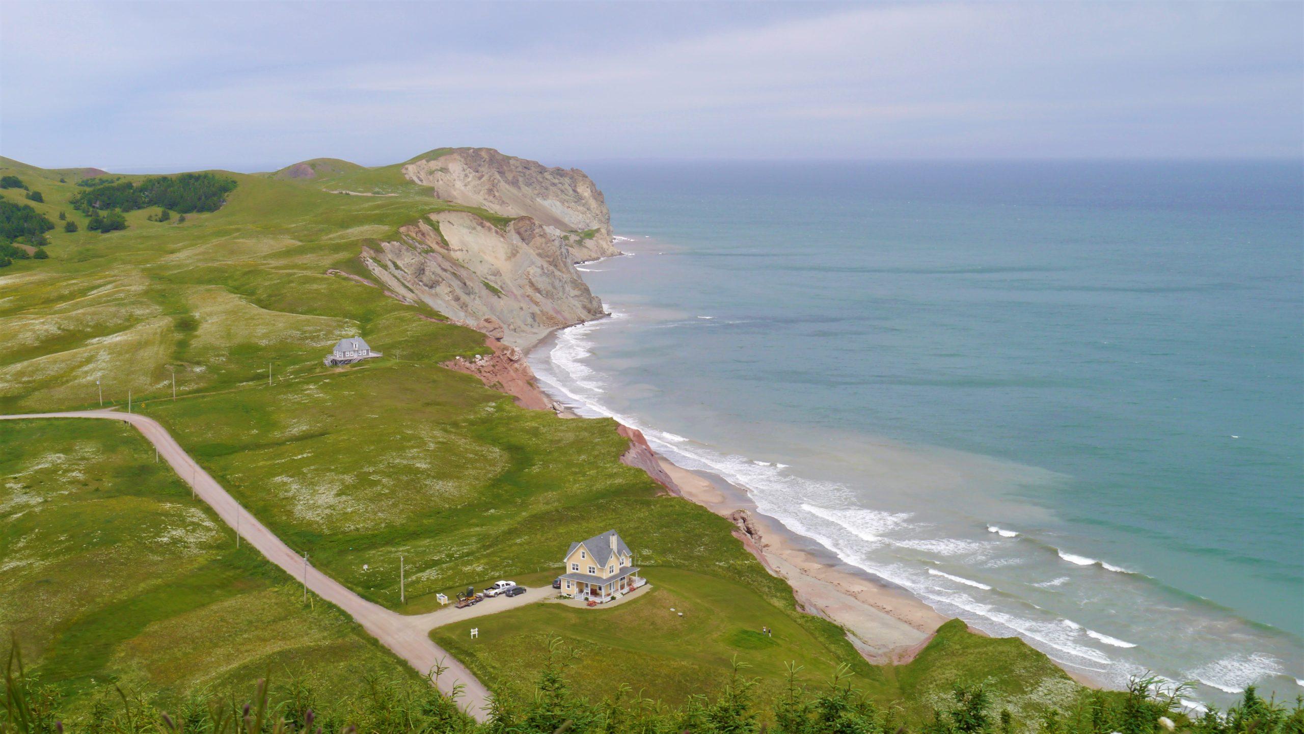 Iles de la Madeleine randonnée Butte Ronde voyage Québec Canada blog arpenter le chemin