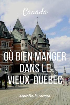 bien manger bonnes tables vieux quebec petit-champlain blog voyage road-trip canada arpenter le chemin